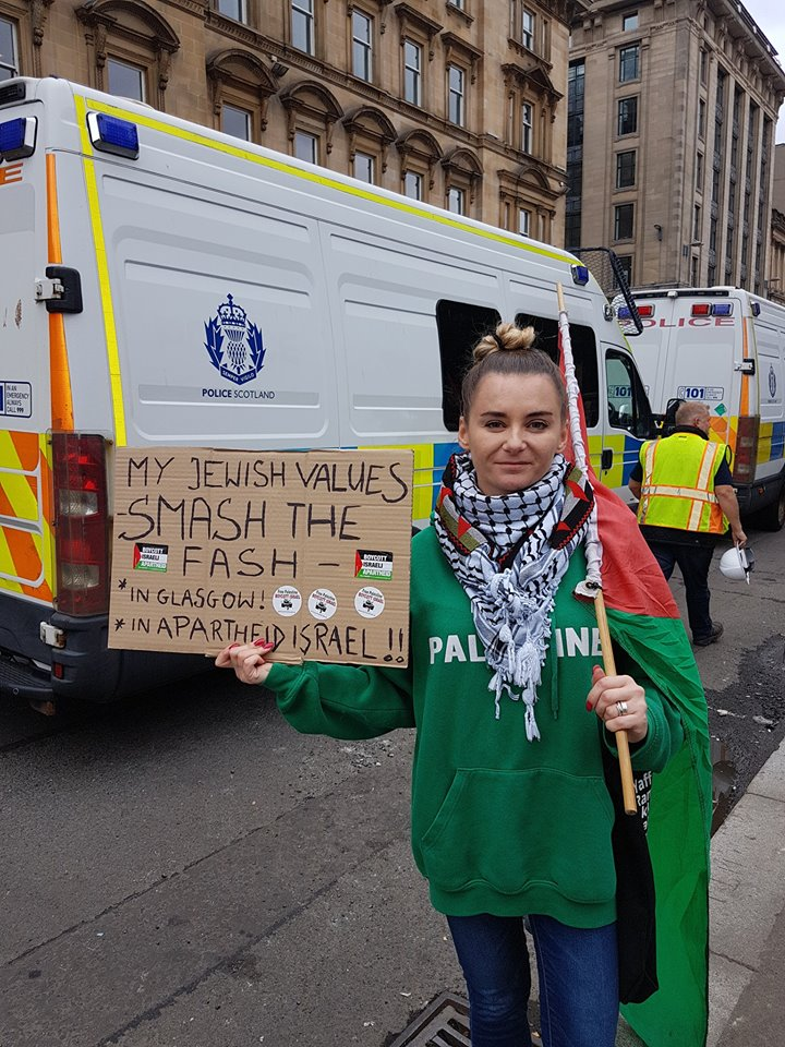 18-07-21 Anti SDL demo glasgow